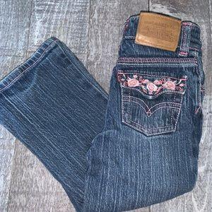 Levi's Flower Pocket Jeans
